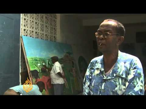 Somali art exhibition portrays war