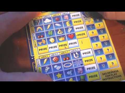 No Luck?! - Cash Vault, Lucky Lines, Millionaire 7's Blue | ScratchCards From The National Lotto (3)