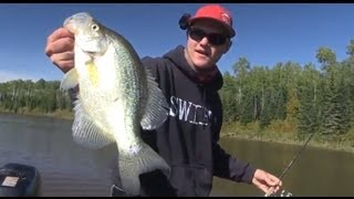 Unstumping Crappies - Uncut Angling - Sept. 24, 2011