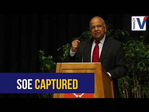 WATCH: Pravin calls out state-owned enterprises involvement in state capture and monopoly capital