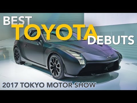 Toyota GR HV Sports, TJ Cruiser and Fine-Comfort Ride Concepts First Look  - 2017 Tokyo Motor Show