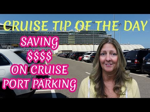 TOP HACKS FOR SAVING $$$ ON CRUISE PORT PARKING | CRUISE TIP OF THE DAY