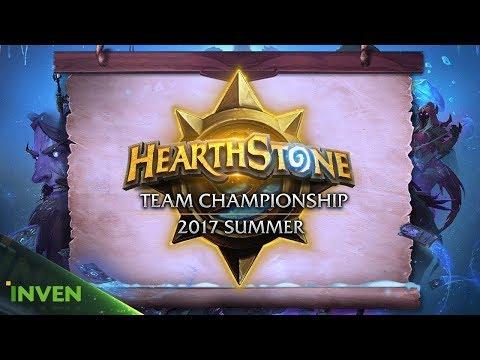 [HTC 2017SS] Trapcard vs DikeDice 4강 2경기 #1 (HeartStone)_170926
