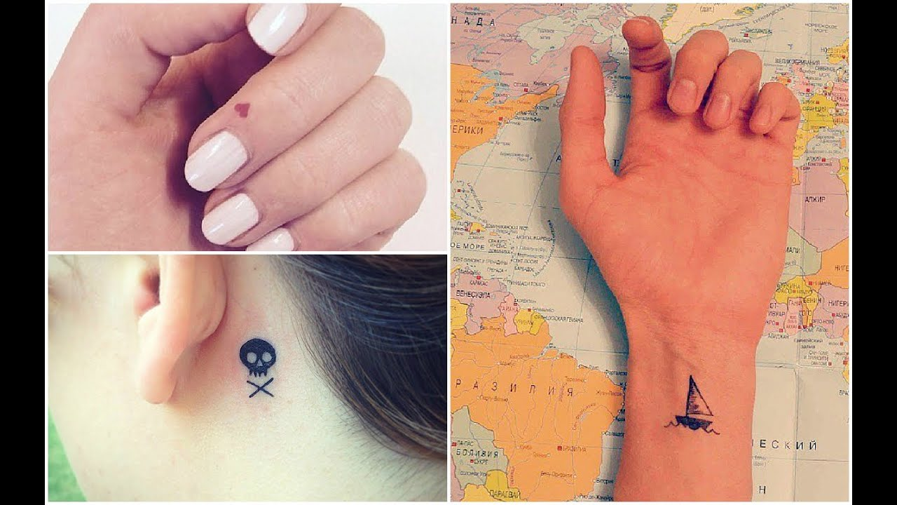 Pequeos tatuajes para mujeres Ideas de Tatuajes YouTube