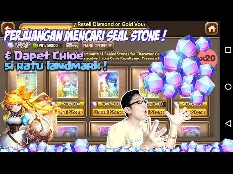 Line get rich : Perjuangan mencari seal stone & Dapet Chloe si ratu landmark !