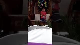Virall Anak Kecil Joget Jaranan Lucuu Polll