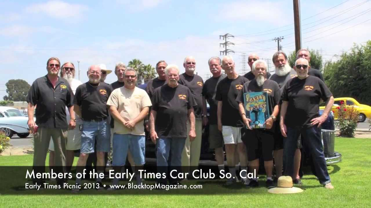 Early times car club picnic 2013 youtube for Hunting and fishing times