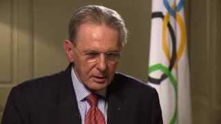 Interview IOC President Jacques Rogge candidate cities 2020 Summer Olympics