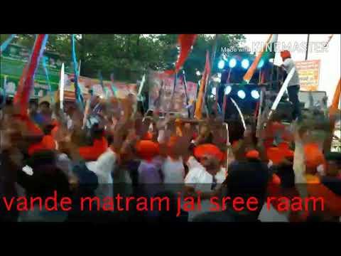 Vande matram jai shree ram ! bhagwa diws Chittorgarh me