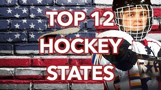 Top 12 Hockey States