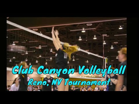 Club Canyon Volleyball Reno Nevada tournament! Day 1!