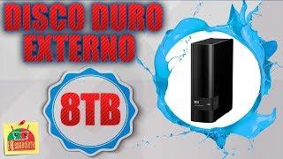 UnBoXing - - - Super Disco Duro Externo de 8TB - WD Easy Store