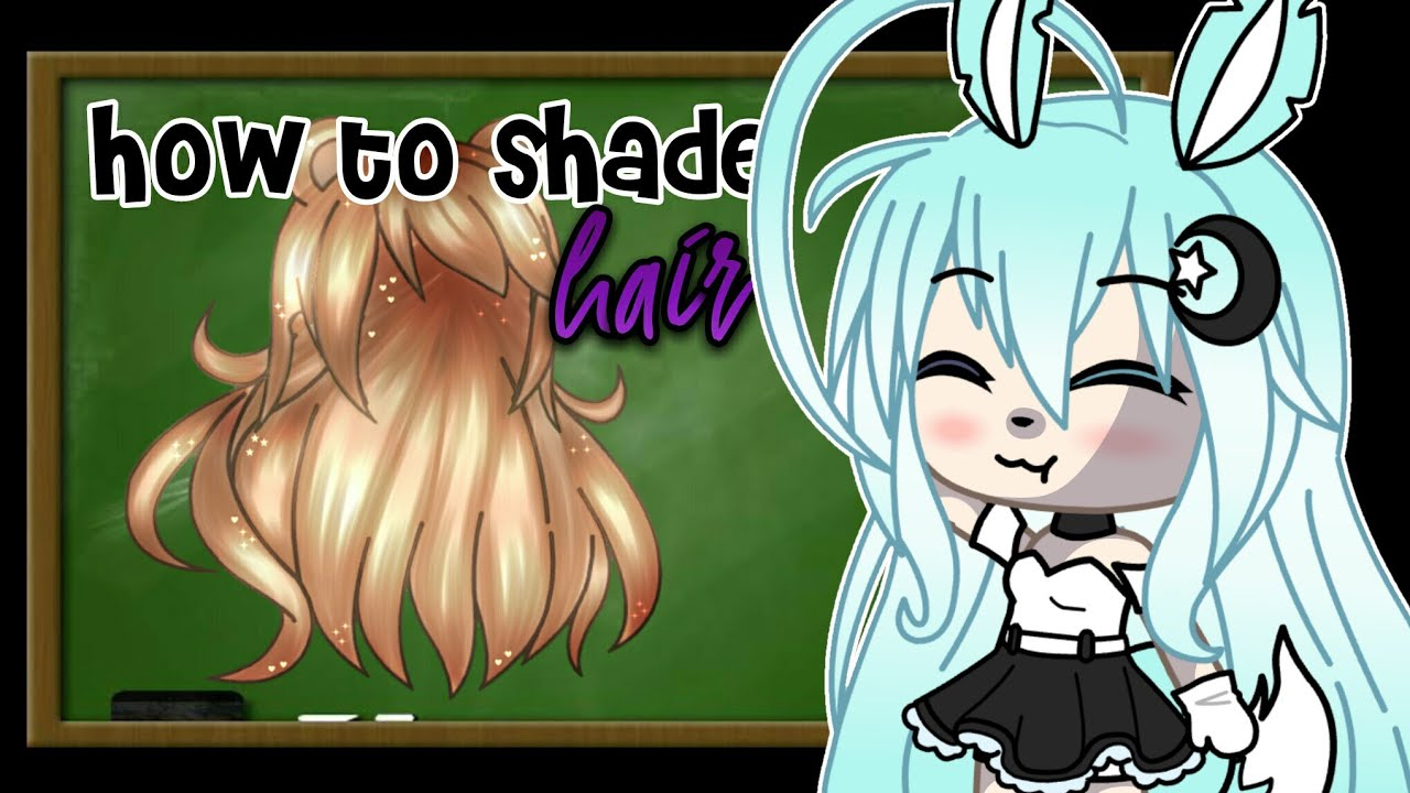 How To Shade Hair Gacha Life Ibispaint X