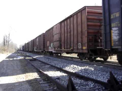 Kansas City Southern East Bound Freight Train