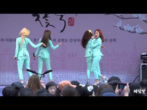 [15.04.18] 마마무(MAMAMOO) AHH OOP! 직캠(김창렬의올드스쿨) By 헤임달