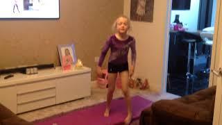 My gymnastics show