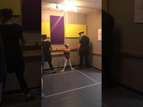 Cop Dad Dances Ballet With Daughter  -  984510