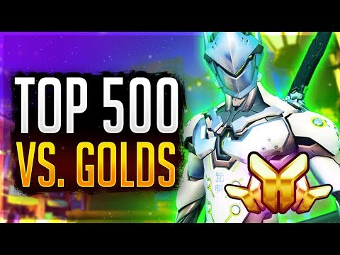 A Top 500 Genji Plays In Gold... Overwatch Smurfing Unranked to GM (Samito) thumbnail