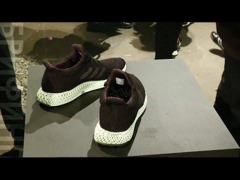 Adidas стал печатать кроссовки