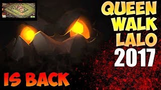 Clash of Clans: AQ Walk + LALO Th10 3* attack strategy against maxed th10 with low level heroes