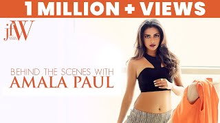 Amala Paul on JFW cover   Exclusive video of Amala Paul for JFW Magazine   JFW Cover Shoot