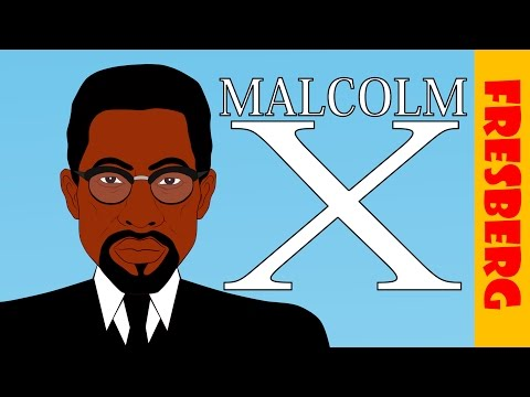 Malcolm X Biography for Kids: Black History Month for Children (Educational Videos for Students)