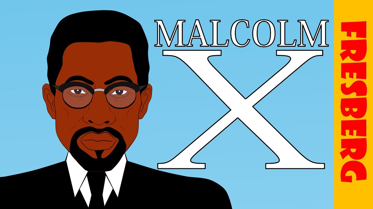 malcolm x biography for kids black history month for children