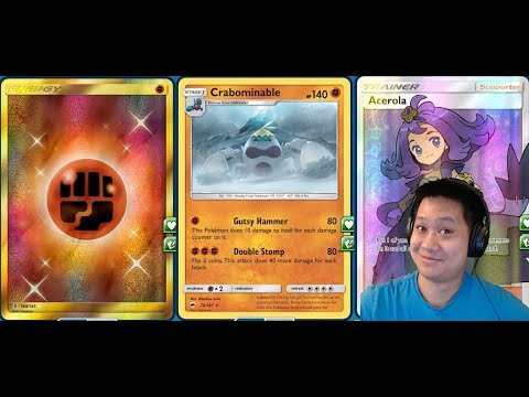 ONE Energy CRABOMINABLE Deck, Powerful New Budget Non-GX Pokemon