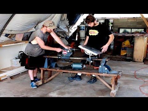 Building a Lathe | Converting A Wood Lathe Into a Metal Lathe Part 1