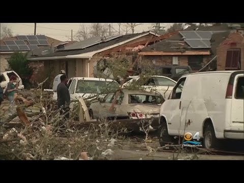 Tornadoes Touch Down, Wreak Havoc In Southern Louisiana