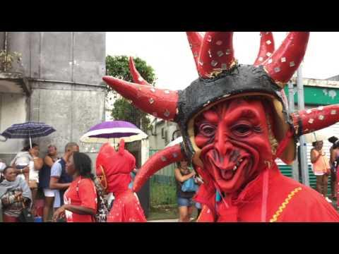 Parade du Carnaval dimanche 29 janvier à Saint-Joseph (Martinique)