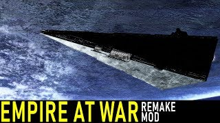 EMPIRE AT WAR REMAKE MOD -- New Release!! | Gameplay and Reaction (Live at 6PM EST)