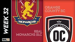 Real Monarchs SLC Vs. Orange County SC October 9 2019
