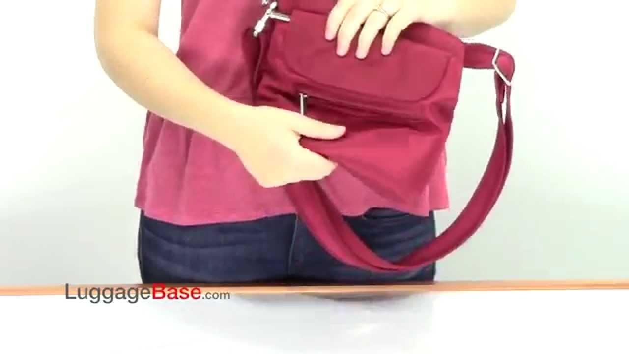 9c0832f002 Travelon Anti-Theft Mini Shoulder Bag - YouTube