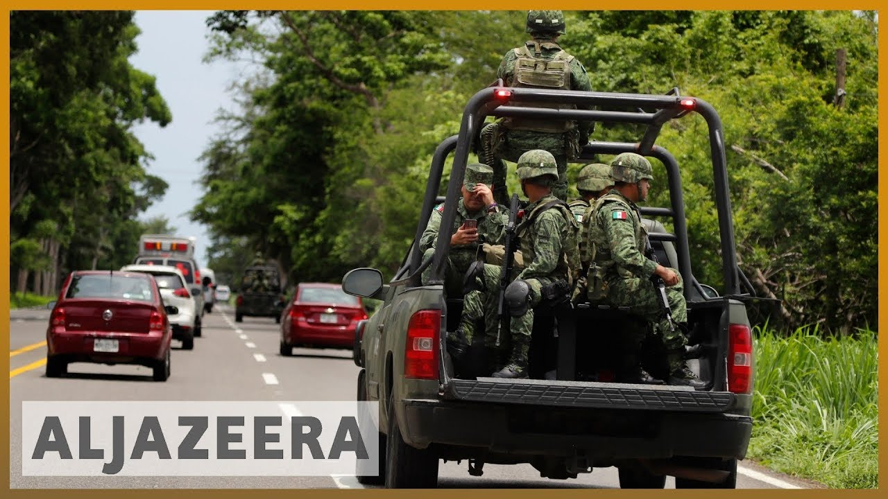 AlJazeera English:Mexico sends troops to southern border over migrant deal