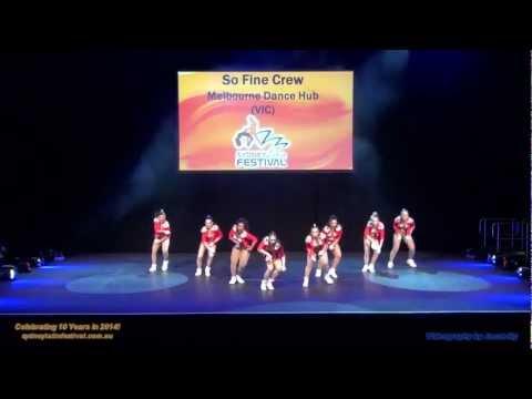 SO FINE CREW - Melbourne Dance Hub (Sydney Latin Festival 2013)