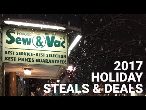 Holiday 2017 Steals and Deals!