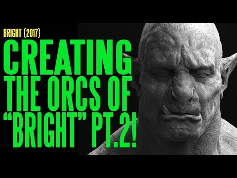BRIGHT Creating the Orcs Part 2 The Sculptures ADI BTS