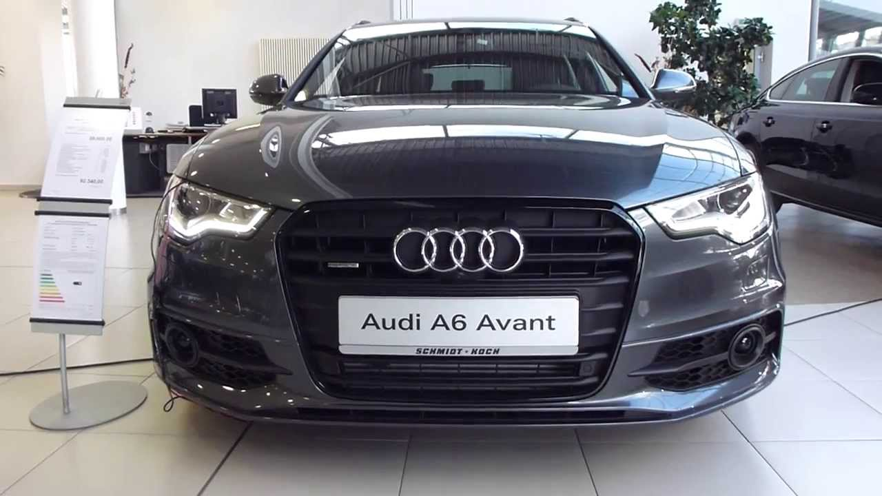 2014 audi a6 avant 39 39 s line 39 39 exterior interior see also playlist subscribe youtube. Black Bedroom Furniture Sets. Home Design Ideas