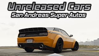 GTA Online: Unreleased San Andreas Super Autos Cars Gameplay (Engine Sounds, Handling, and More)