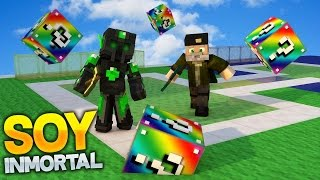 SOY INMORTAL!! - Willyrex vs sTaXx - Carrera épica Lucky Blocks