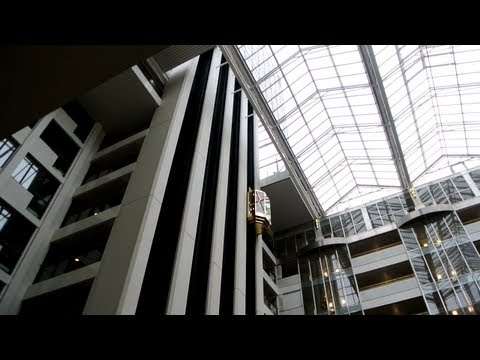 Amazing scenic 1989 Thyssen-MAN elevators @ Hotel**** Clarion Royal Christiania in Oslo, Norway
