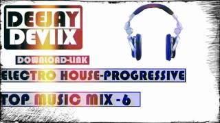 Electro house & progressive top music mix 6 deejaydevix musica electronica link de descarga