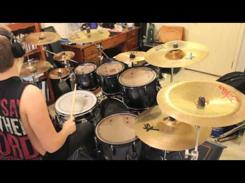 Chelsea Grin - Recreant Drum Cover By Adam Björk