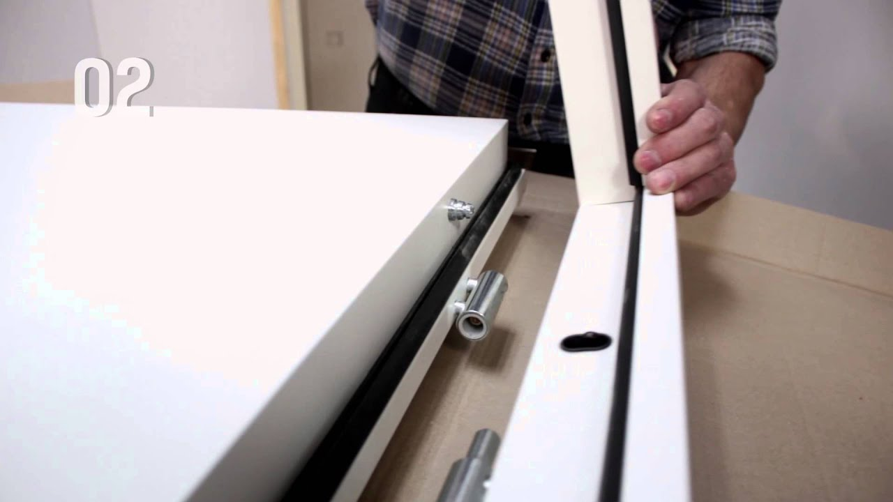 Anleitung Türenmontage - YouTube