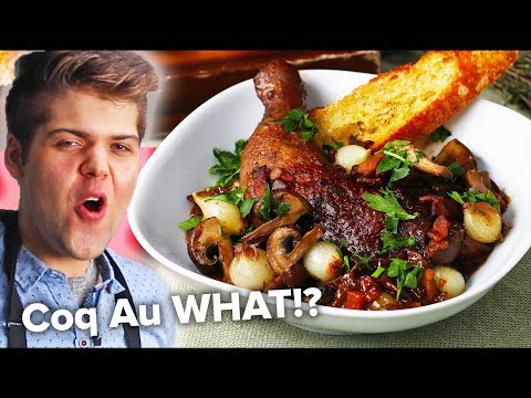 "How To Make French ""Chicken With Wine"" (Coq Au Vin)"