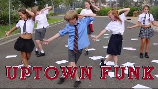 Repeat youtube video Uptown Funk - Mark Ronson ft. Bruno Mars cover by Ky Baldwin
