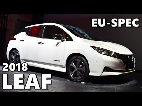Nissan Futures 3.0 //2018 LEAF EU Debut// Full Coverage
