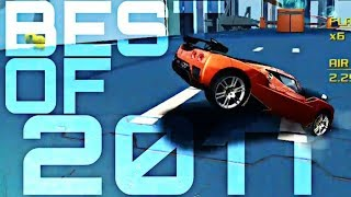 [Asphalt 8] BEST STUNTS OF 2017 (Christmas short)
