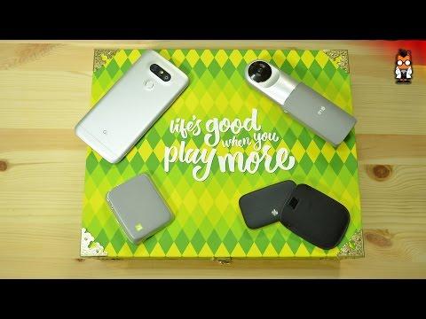 LG G5 Unboxing und Kurztest [Deutsch - German]